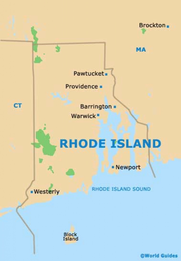 Providence Maps And Orientation: Providence, Rhode Island - Ri, Usa intended for Map Of Rhode Island And Surrounding States