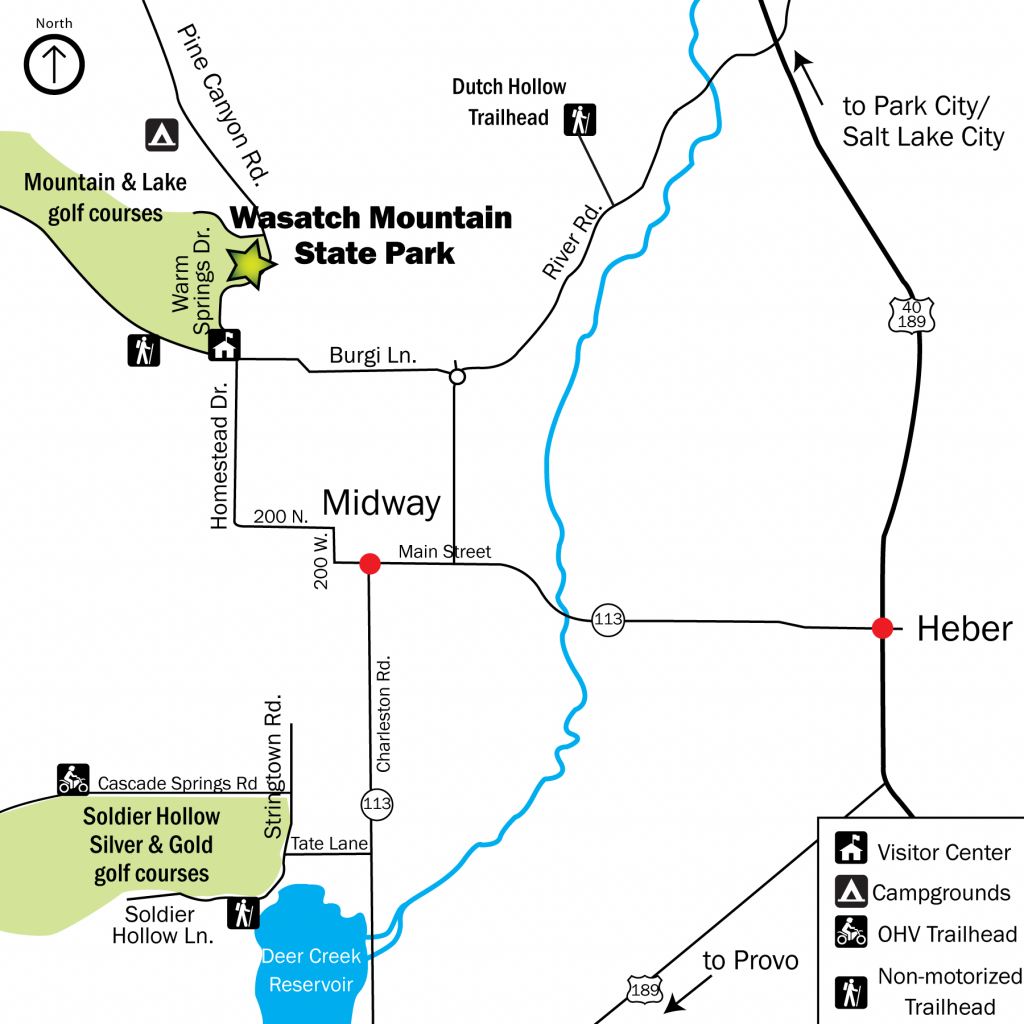 Publications | Utah State Parks pertaining to Oak Mountain State Park Campground Map