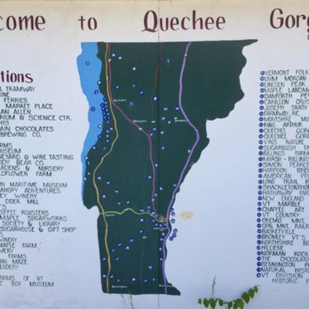 Quechee Gorge State Park - 126 Photos & 40 Reviews - Parks - 764 for Vt State Park Map
