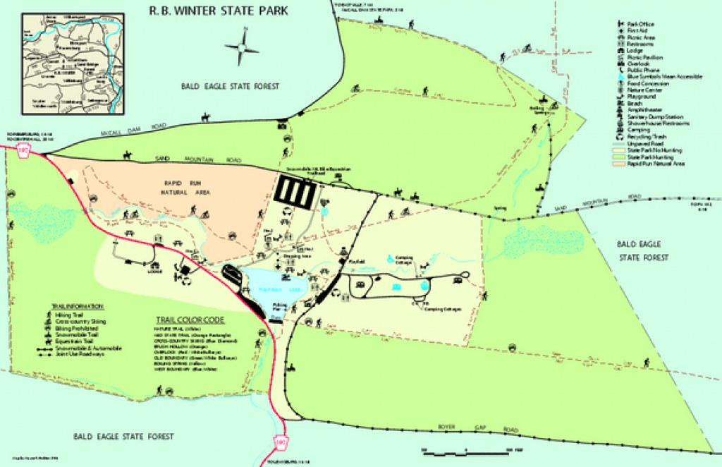 R B Winter State Park Map - 17215 Buffalo Road Mifflinburg Pa 17844 with regard to Rb Winter State Park Trail Map