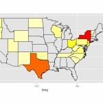 R   How Do You Create A Us States Heatmap Based On Some Values Intended For Create A State Map