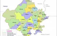 Rajasthan Map | State Maps In 2018 | Pinterest | Rajasthan India pertaining to Political Map Of Rajasthan State