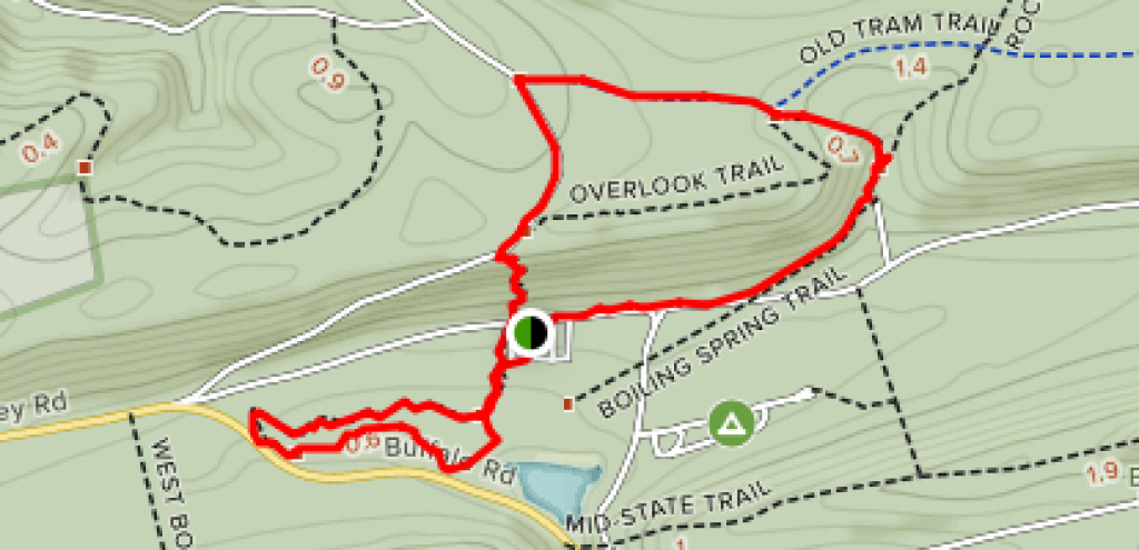 Raymond B. Winter Trails - Pennsylvania | Alltrails intended for Rb Winter State Park Trail Map