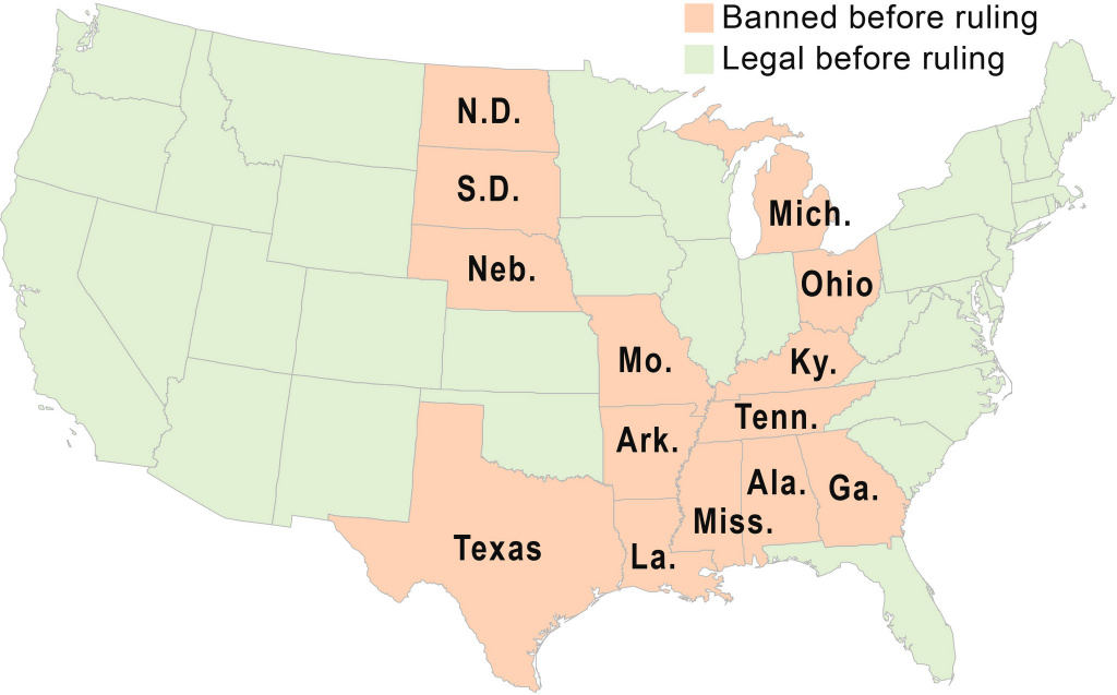 Reaction To Supreme Court Legalizing Same-Sex Marriage | Syracuse within Map Of States Legalized Gay Marriage