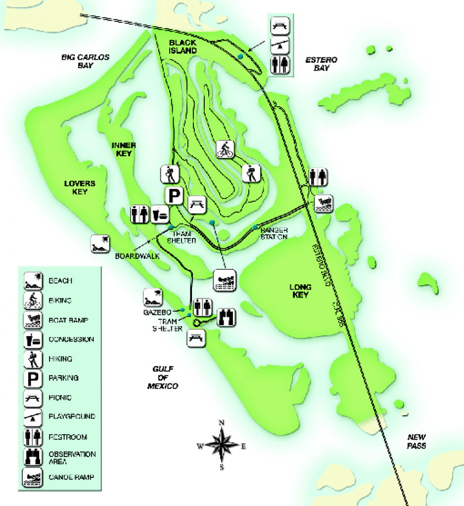 Real Life Map Collection • Mappery for Skidaway Island State Park Trail Map