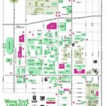 Real Life Map Collection • Mappery Throughout Wayne State University Campus Map