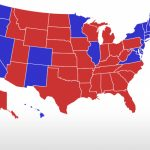 Realclearpolitics   Election 2016   General Election: Trump Vs. Clinton Intended For Trump Support By State Map