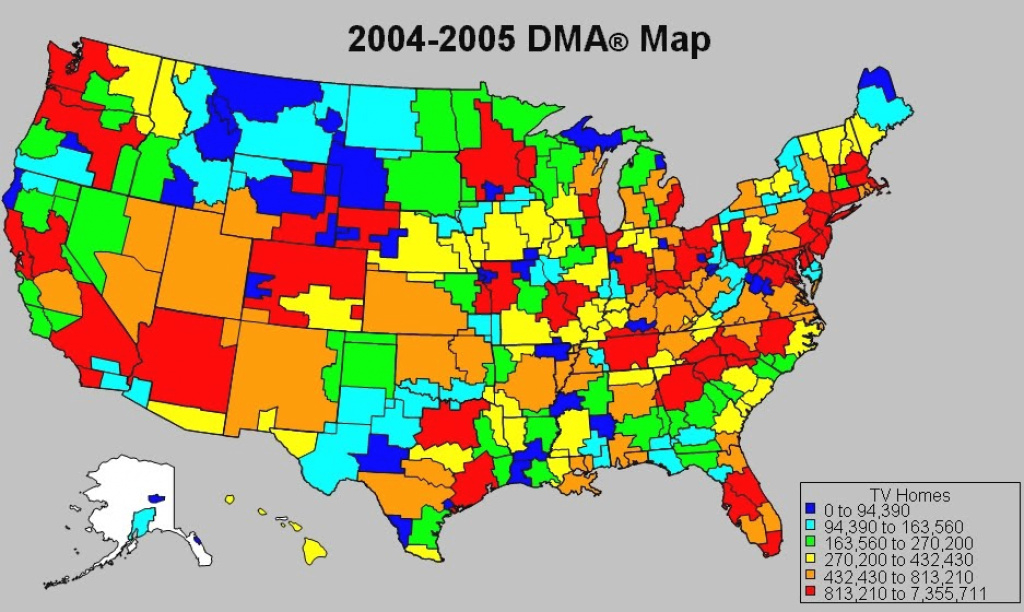 Rebecca Tushnet's 43(B)Log: Copyright In Maps: Graphic Elements Or for Dma Map By State