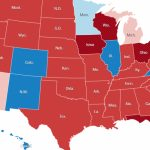 Red And Blue Map, 2016   The New York Times Within Red State Blue State Map