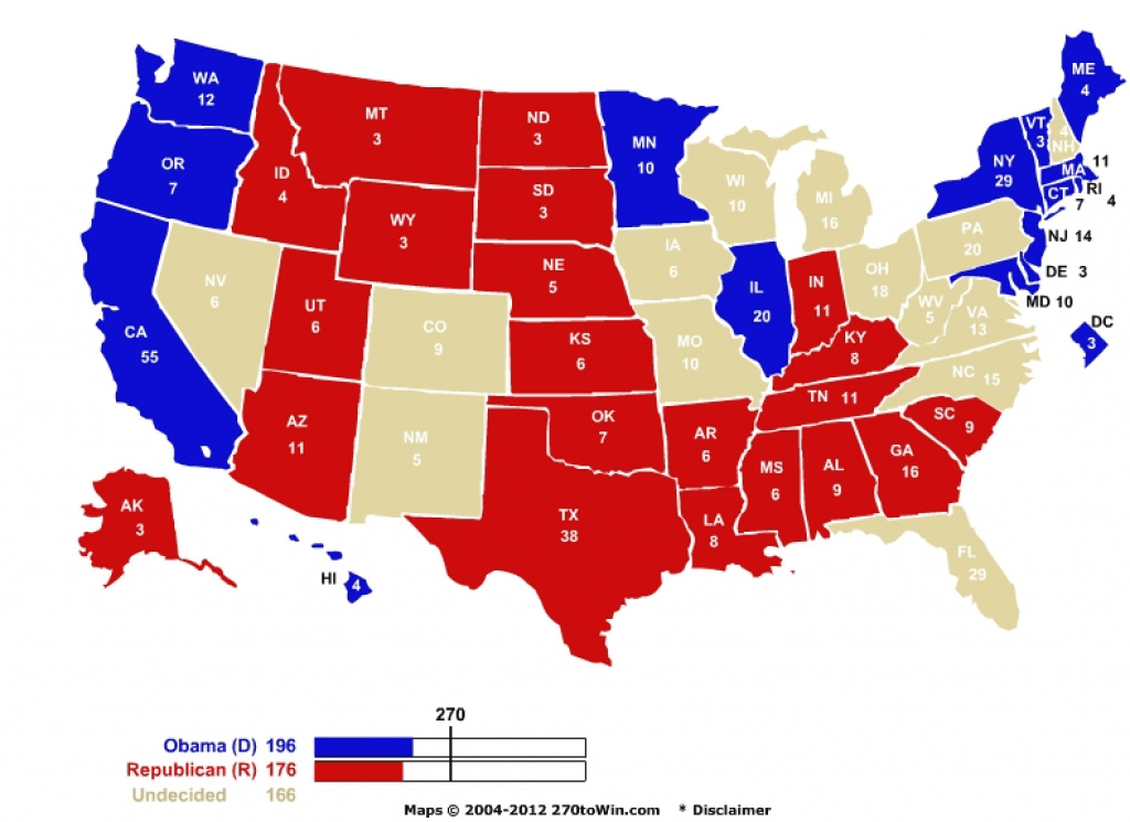 Red State Vs. Blue State | The Greatest Game Ever Played pertaining to Red State Blue State Map