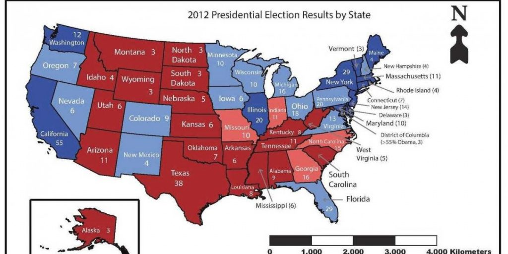 Red States And Blue States Are Moving In Opposite Directions With Regard To Blue States 2017 Map