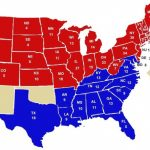 Red States And Blue States: It Was Not Always Thus – Jsphfrtz Inside Blue States Map