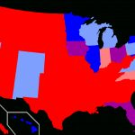 Red States And Blue States   Wikipedia Throughout Republican States Map