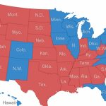 Red States, Blue States: 2016 Is Looking A Lot Like 2012 (And 2008 For Republican States Map