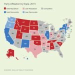 Red States Outnumber Blue For First Time In Gallup Tracking Inside Republican States Map