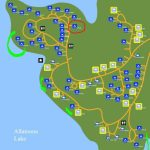 Red Top Mountain State Park #camping Map   Wanderluster's Ga Site With Regard To Lake Hartwell State Park Campground Map