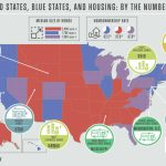 Red Vs. Blue States: What 8 Housing Differences Can Tell Us About In Map Of Red States And Blue States 2016