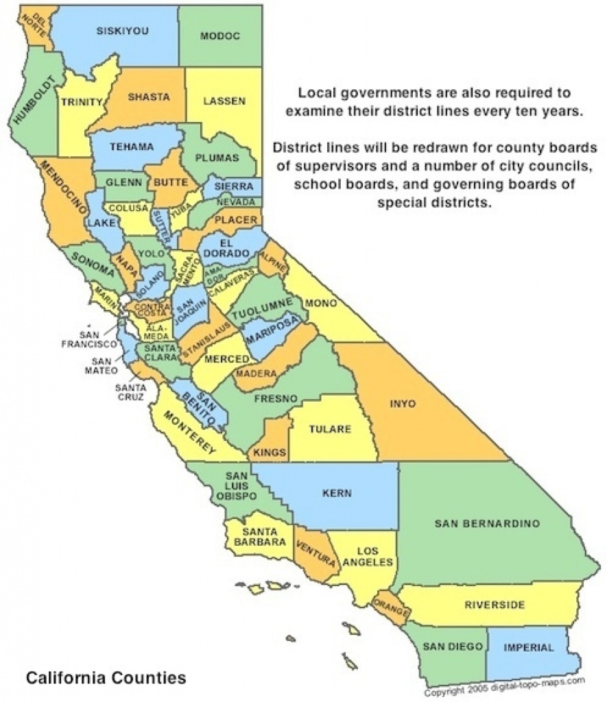 Redistricting California Map California California State Senate in California State Assembly Map