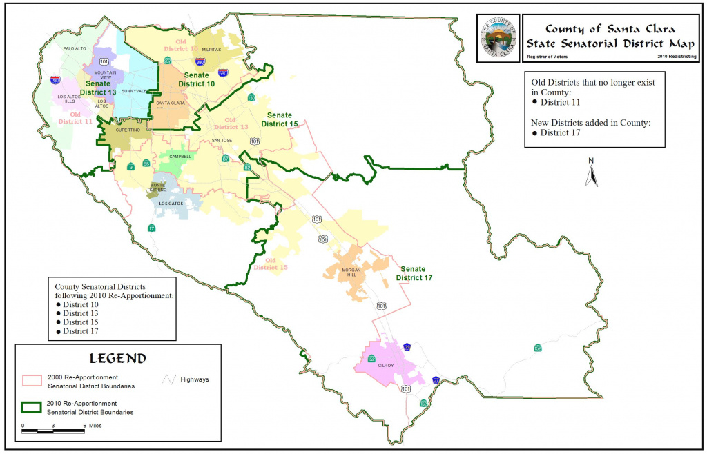 Redistricting - Registrar Of Voters - County Of Santa Clara in California State Assembly District Map
