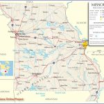Reference Map Of Missouri   Road Maps Of The United States In State Reference Map Missouri