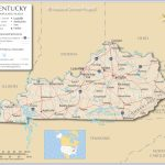 Reference Maps Of Kentucky, Usa   Nations Online Project With Regard To Map Of Kentucky And Surrounding States
