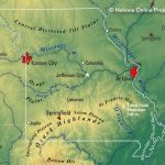 Reference Maps Of Missouri, Usa   Nations Online Project Regarding State Reference Map Missouri
