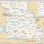 Reference Maps Of Missouri, Usa   Nations Online Project Within State Reference Map Missouri