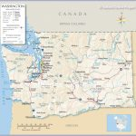 Reference Maps Of State Of Washington, Usa   Nations Online Project Within Map Of Washington State Cities And Towns