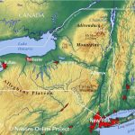 Reference Maps Of The State Of New York, Usa   Nations Online Project For New York State Landmarks Map