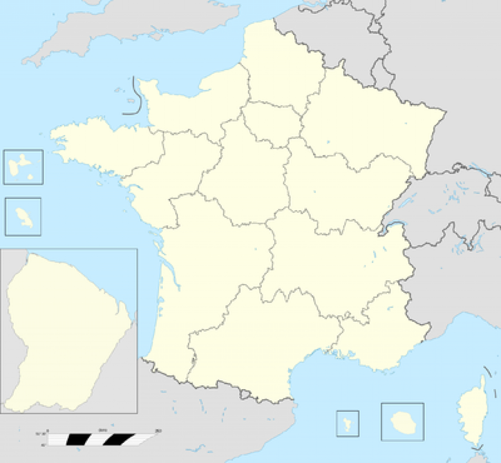 Regions Of France - Wikipedia intended for France States Map
