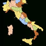 Regions Of Italy   Wikipedia Within Italian States Map