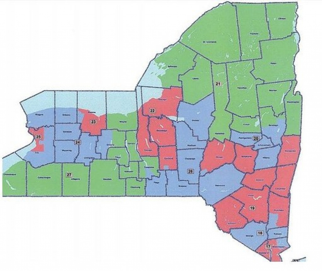 Release Of Assembly And Senate Proposed Congressional District Maps regarding New York State Assembly District Map