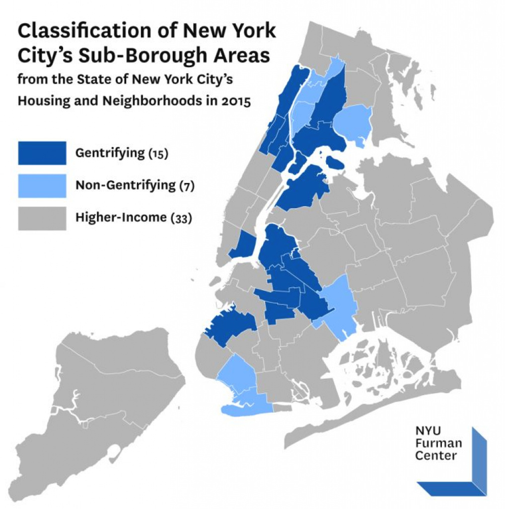 Report Analyzes New York City's Gentrifying Neighborhoods And Finds regarding New York State Crime Map