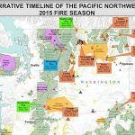 Review Of The 2015 Wildfire Season In The Northwest   Wildfire Today Inside Map Of The Washington State Fires