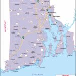 Rhode Island Map, Map Of Rhode Island, Ri Map Inside Map Of Rhode Island And Surrounding States