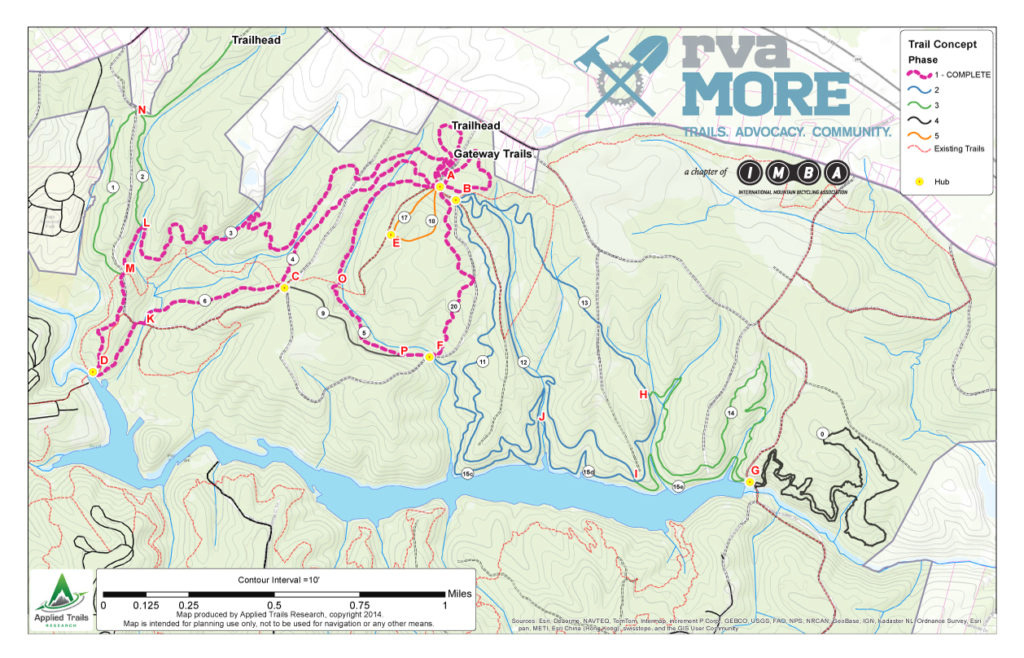 Richmond Regional Ride Center » Pocahontas State Park Bike Trails regarding Pocahontas State Park Trail Map