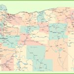 Road Map Of Oregon With Cities Pertaining To State Map With Cities