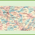 Road Map Of Tennessee With Cities For State Map Of Tennessee Showing Cities