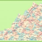 Road Map Of Virginia With Cities Pertaining To Virginia State Map Printable