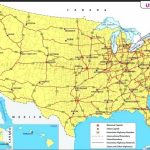 Road Maps Of The United States Major Us Cities And Roads Map Intended For Road Map Of The United States With Major Cities