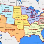 Road Trip Routes: Across The Usa | Gisetc Inside United States Road Trip Map