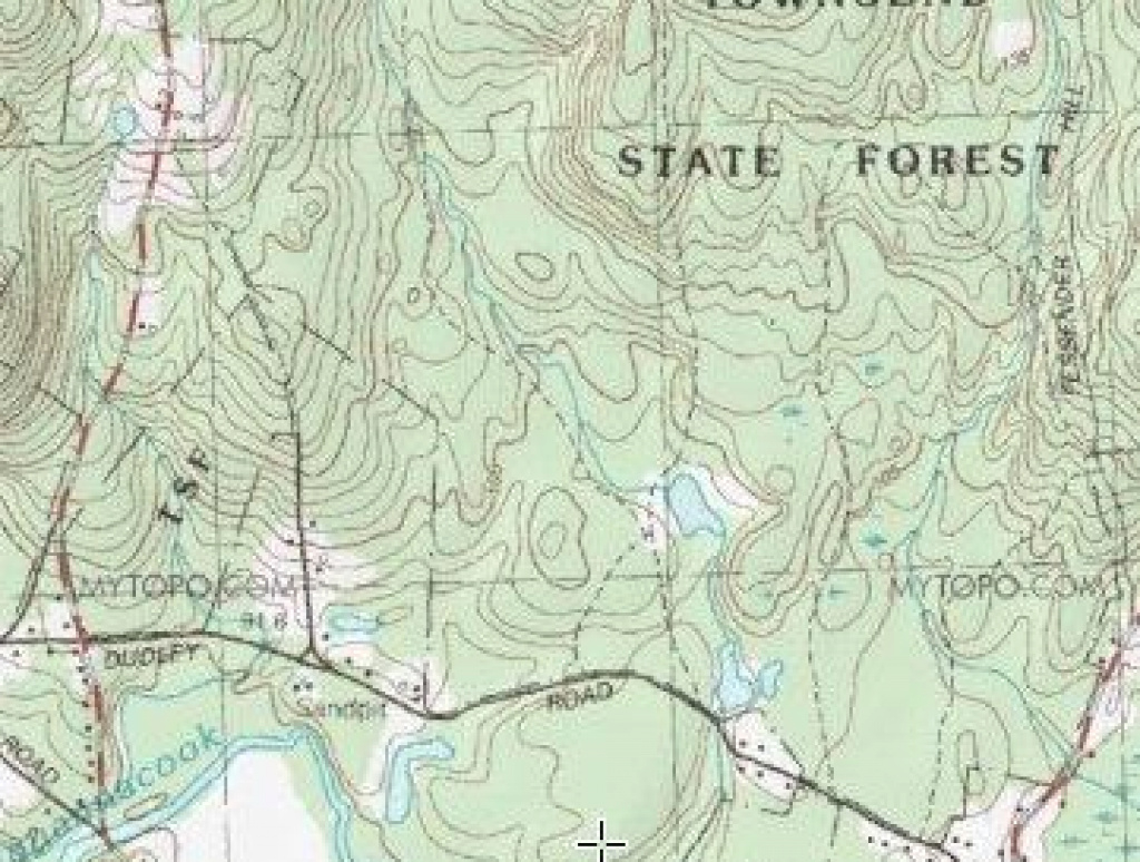 Rock Piles: Townsend State Forest - Delusions Of Moundhood inside Townsend State Forest Trail Map