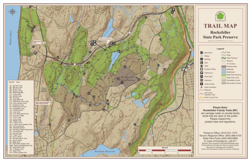 Rockefeller State Park Preserve Trail Map - New York State Parks pertaining to Rockefeller State Preserve Trail Map
