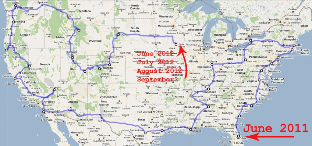Rv Traveling America Road Trip Map | Travel | Pinterest | Road in United States Road Trip Map