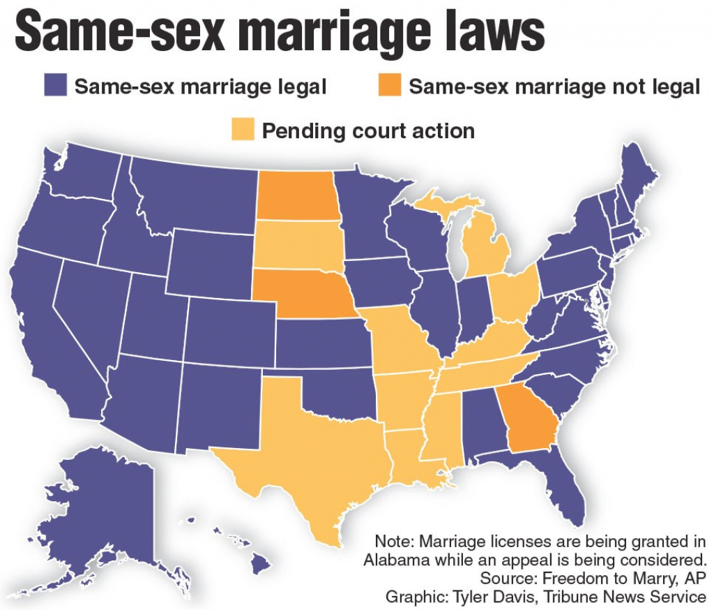 Same-Sex Marriage, Urban Discontent, And American Values | Academe Blog for Map Of States Legalized Gay Marriage