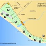 Santa Barbara California Map Carpinteria California Map Pict Throughout Carpinteria State Beach Campground Map