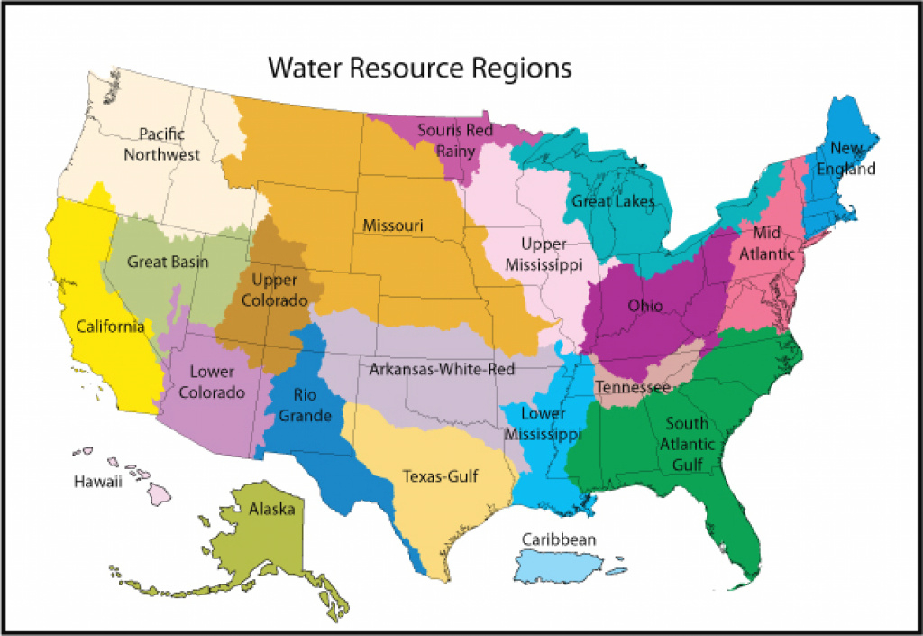 Science In Your Watershed: Locate Your Watershedhuc - Mapping in Watershed Map Of The United States