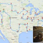 Scientist Randy Olsen Uses Algorithms To Plot The Best Route Across Within United States Road Trip Map