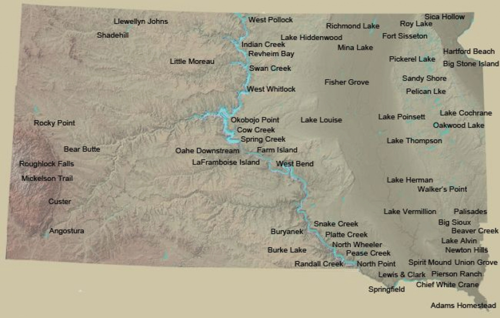 Sd State Park Directory -- Love This. <3 Sd | Favorite Places with regard to South Dakota State Parks Map