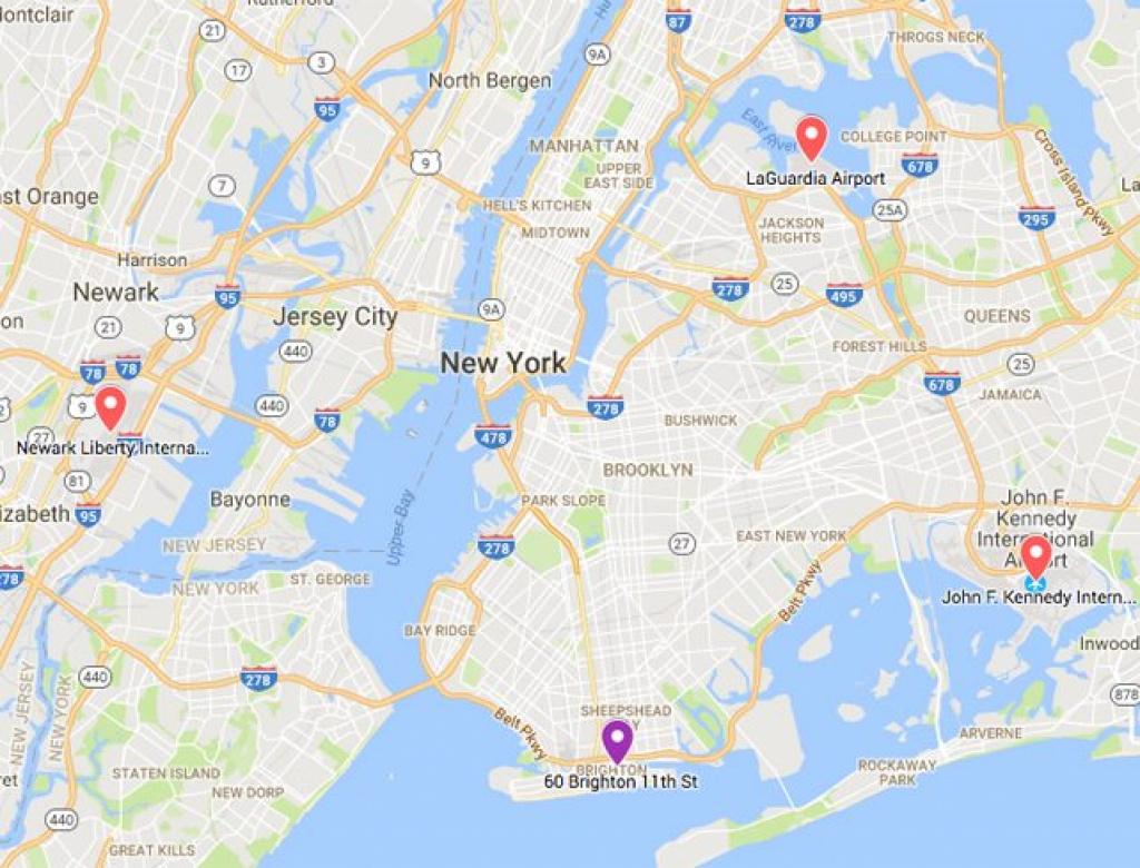 Service Area Map - Brooklyn, Ny - Eternal Light Funeral inside Tri State Area Map